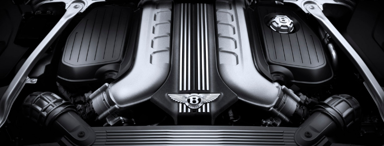 2021 Bentley Continental Engine