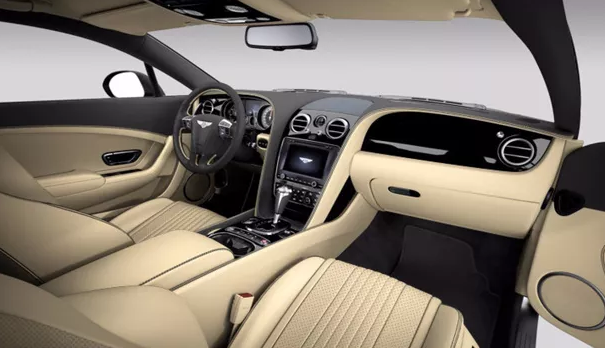 2021 Bentley Continental Interior