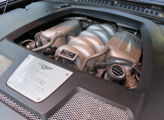 2021 Bentley Arnage Engine