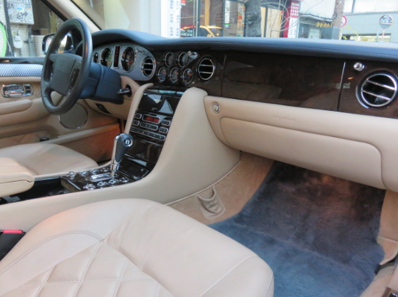 2021 Bentley Arnage Interior