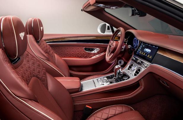 2021 Bentley Azure Interior