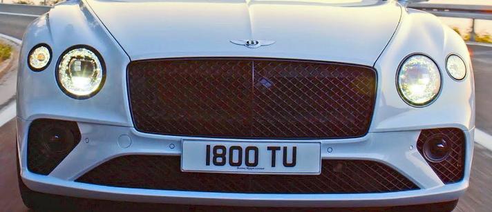 2021 Bentley Continental Exterior
