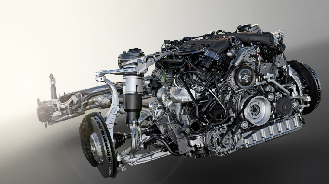 2021 Bentley Bentayga Engine