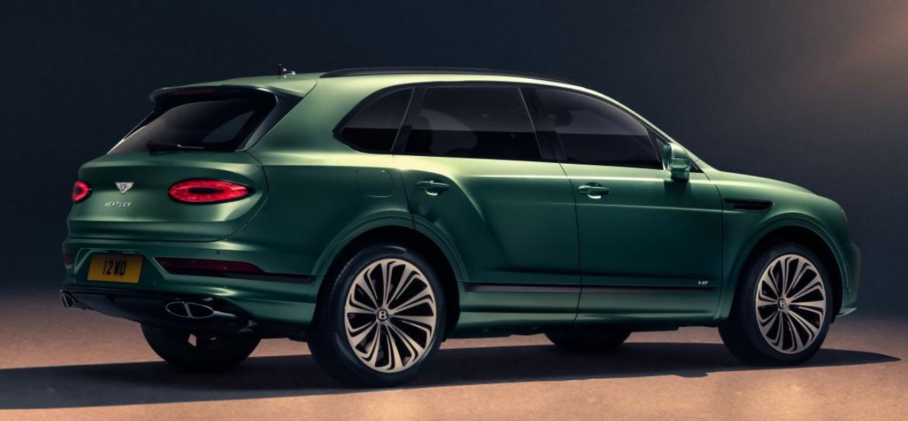 2021 Bentley Bentayga Engine