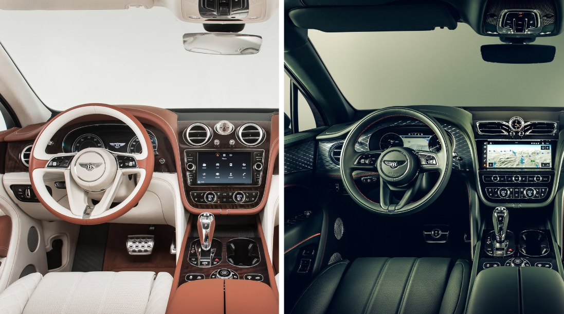 2021 Bentley Bentayga Interior