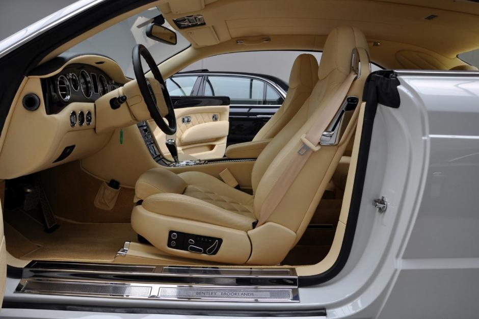2021 Bentley Brooklands Interior