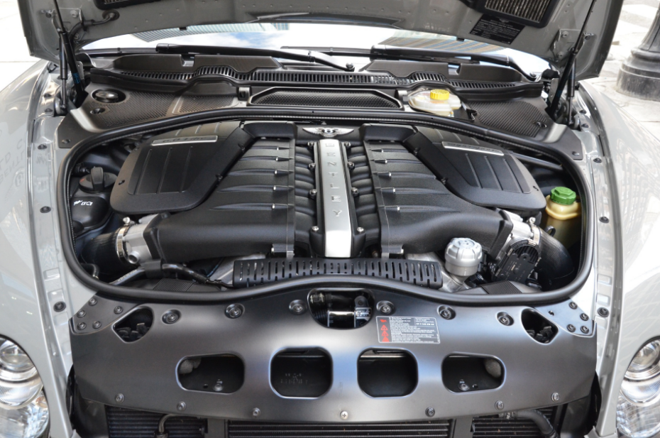2021 Bentley Continental Engine