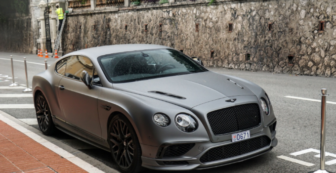 2021 Bentley Continental Exterior