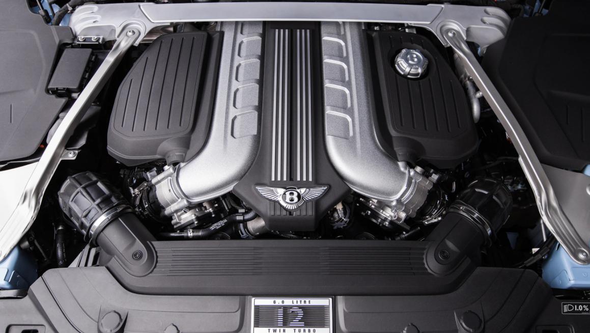 2021 Bentley Continental GT Engine
