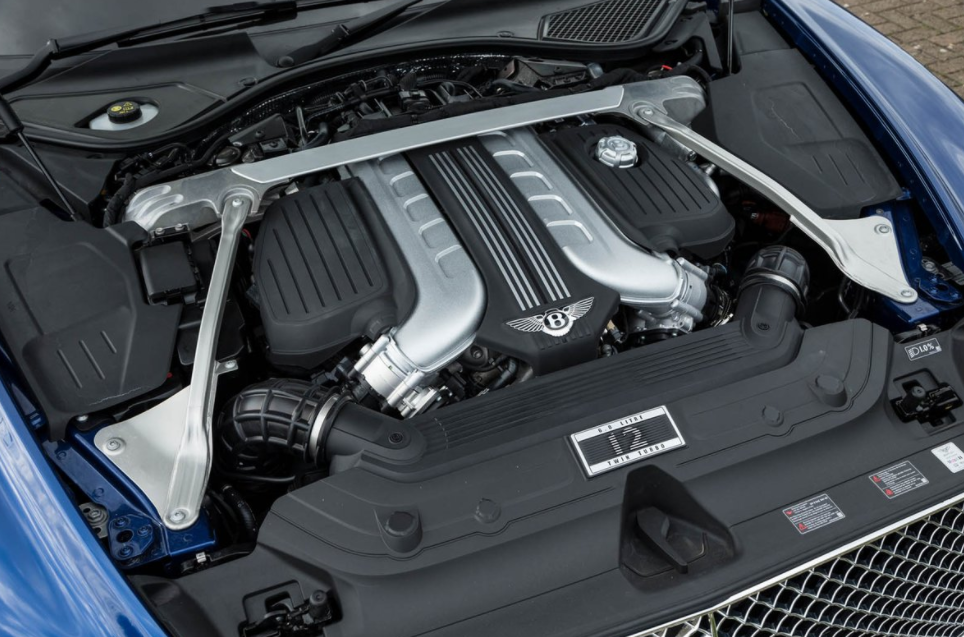 2021 Bentley Continental GT Engine