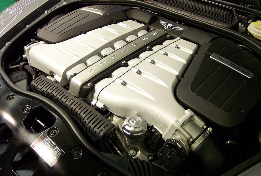2021 Bentley Flying Spur Engine