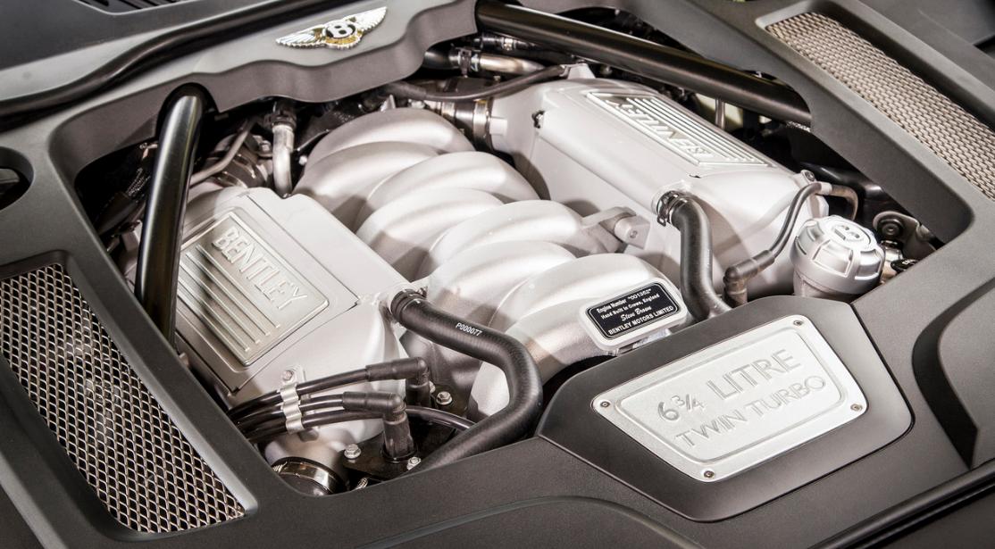 2021 Bentley Mulsanne Engine