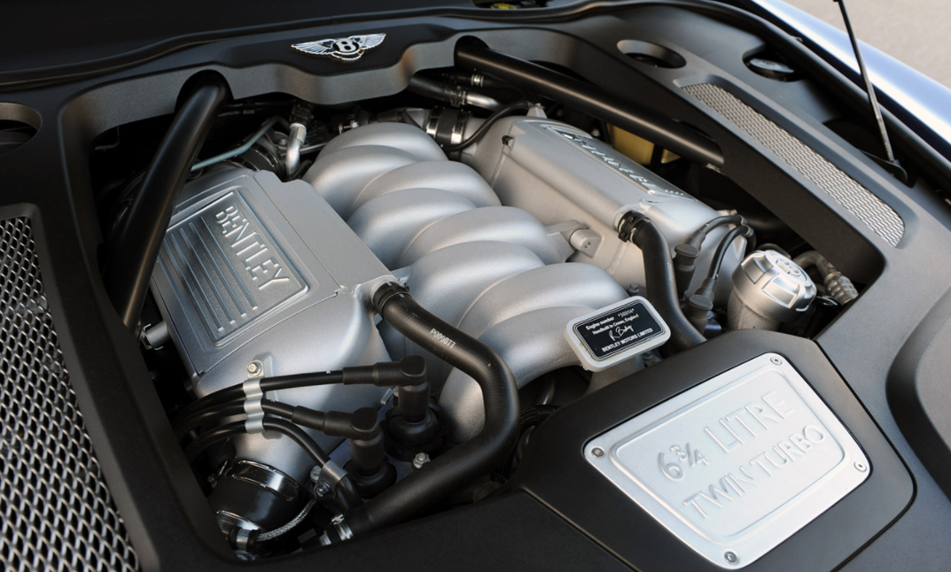 2021 Bentley Mulsanne Engine