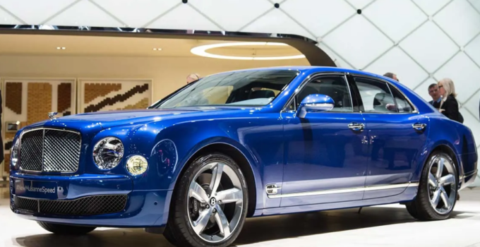 2021 Bentley Mulsanne Speed Exterior