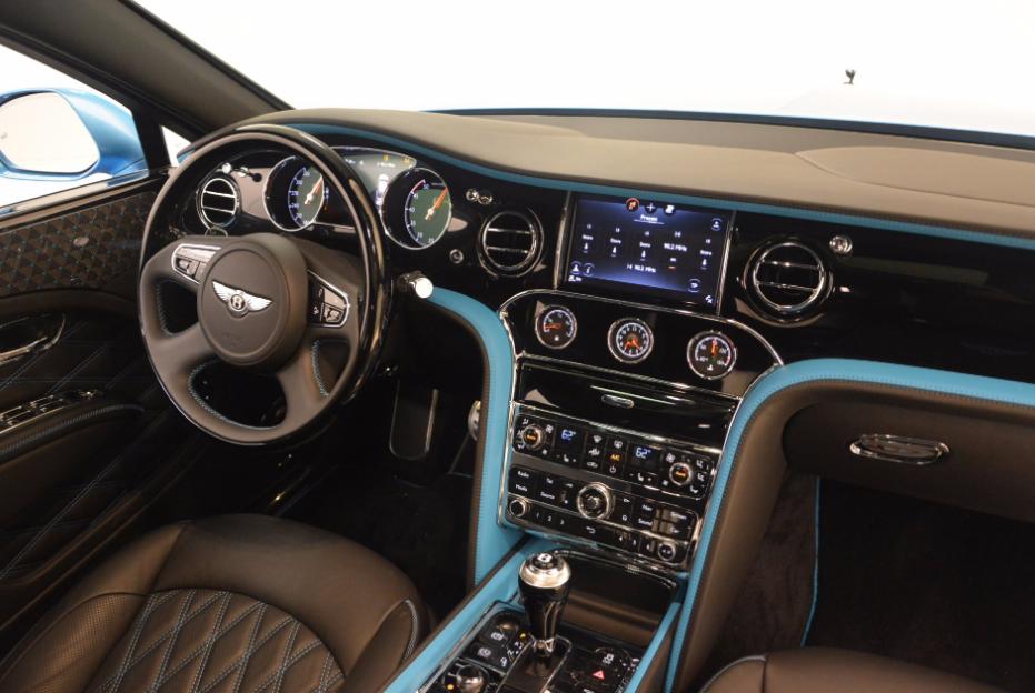 2021 Bentley Mulsanne Speed Interior
