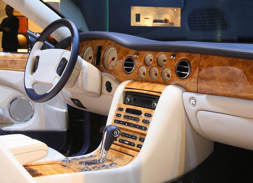 2022 Bentley Arnage Interior