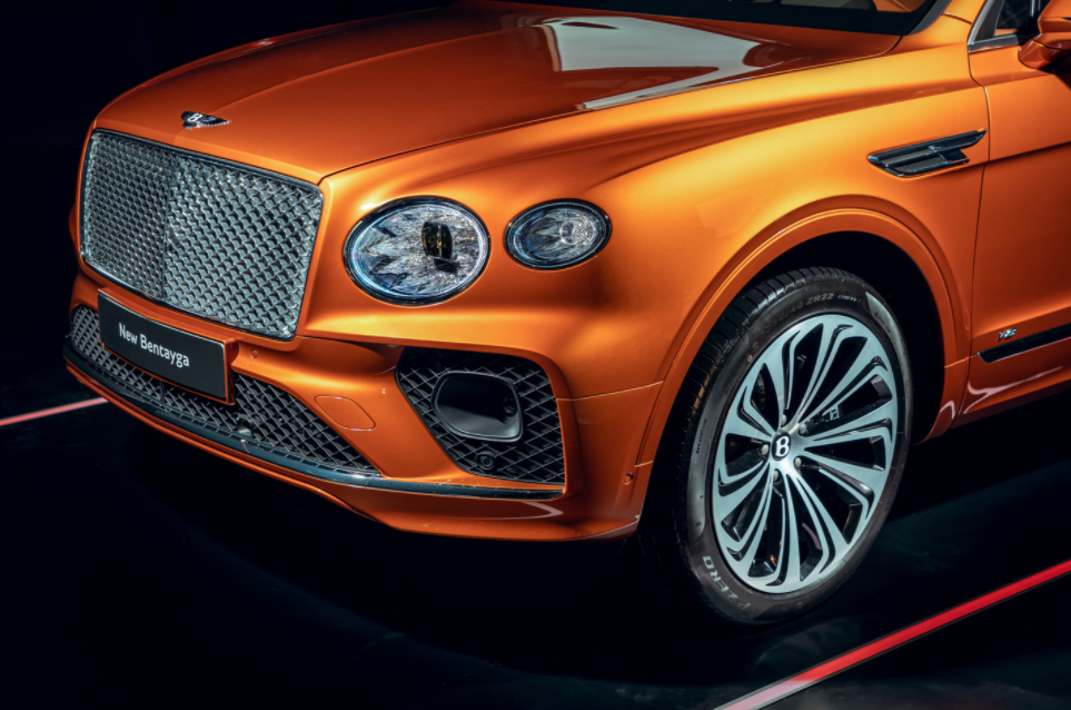 2022 Bentley Bentayga Engine