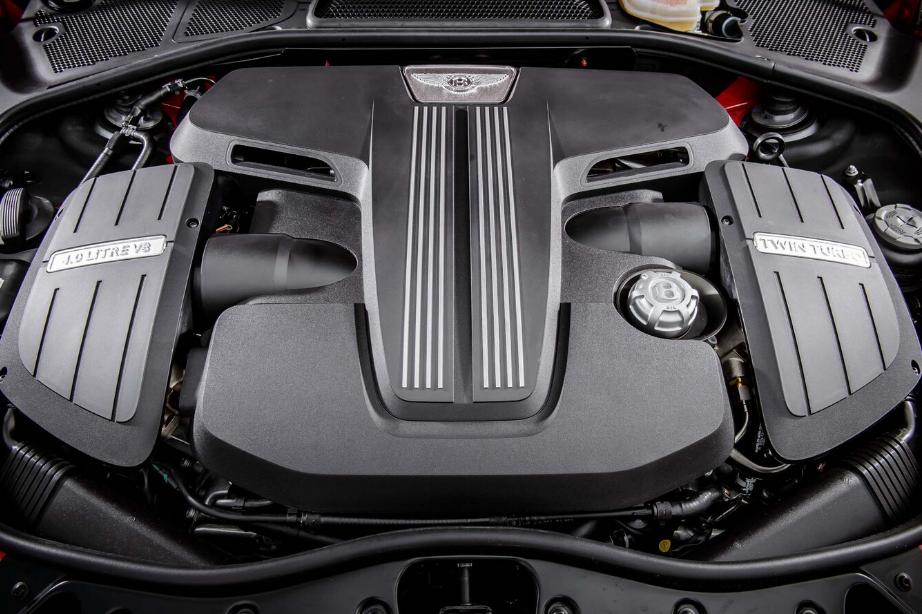 2022 Bentley Continental Engine