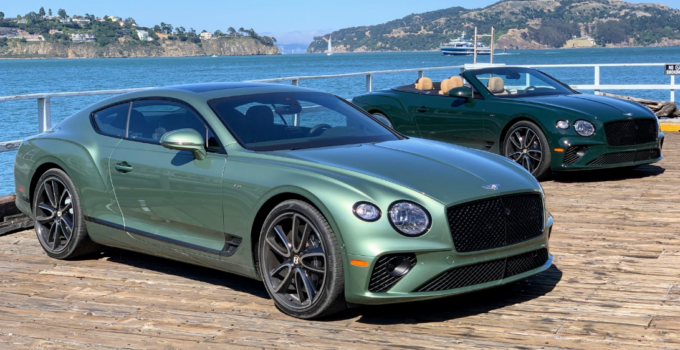 2022 Bentley Continental Exterior