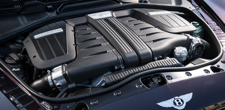 2022 Bentley Continental GT Engine