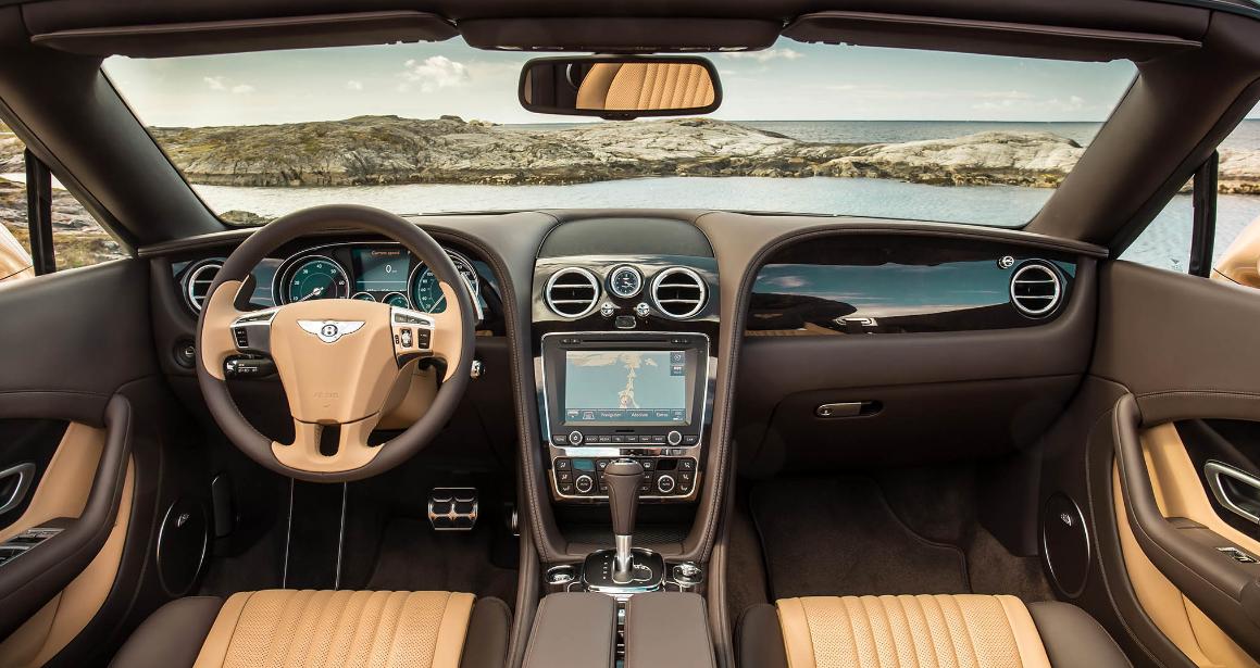 2022 Bentley Continental Interior
