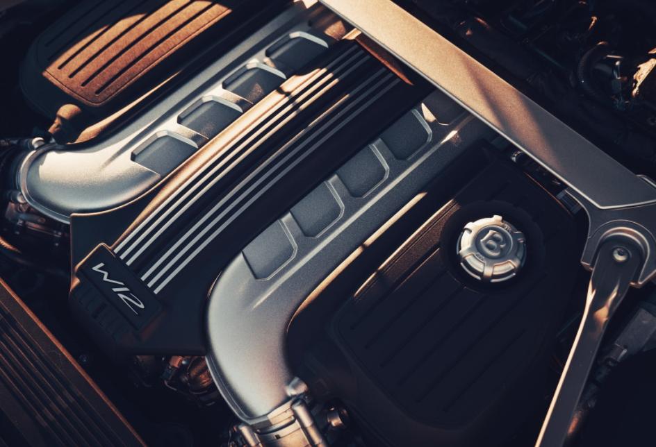 2022 Bentley Flying Spur Engine