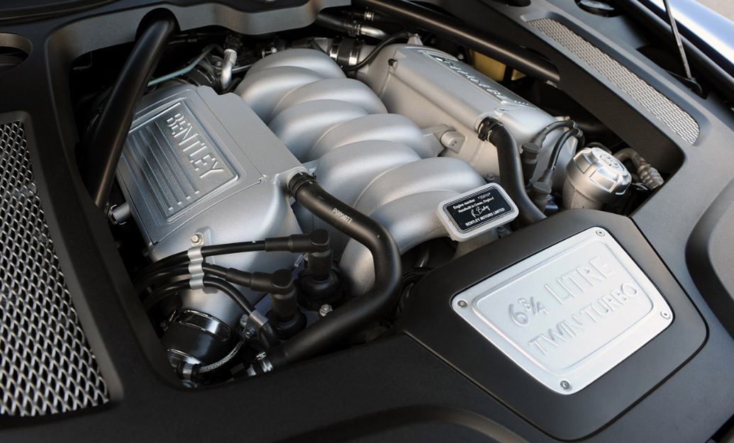 2022 Bentley Mulsanne Engine