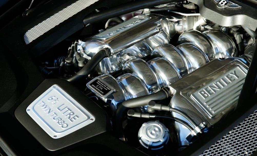 2022 Bentley Mulsanne Engine