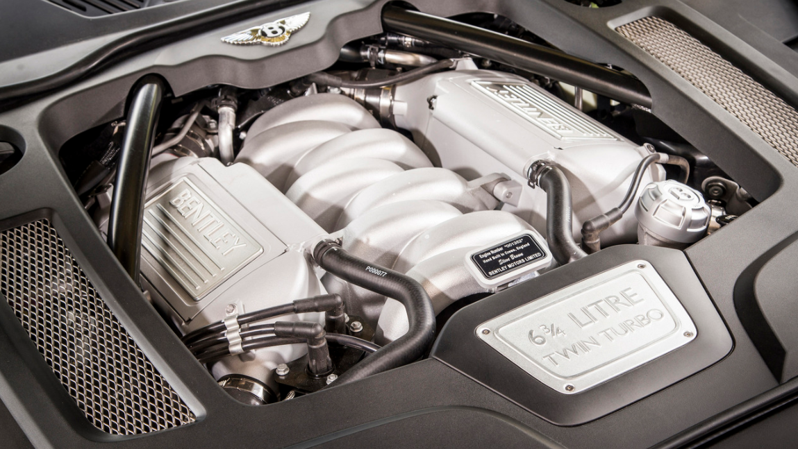 2022 Bentley Mulsanne Speed Engine