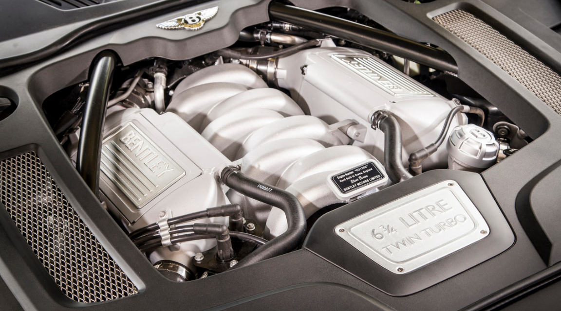 20221 Bentley Mulsanne Engine