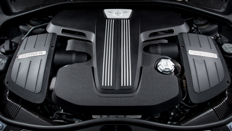 2023 Bentley Bentayga Engine