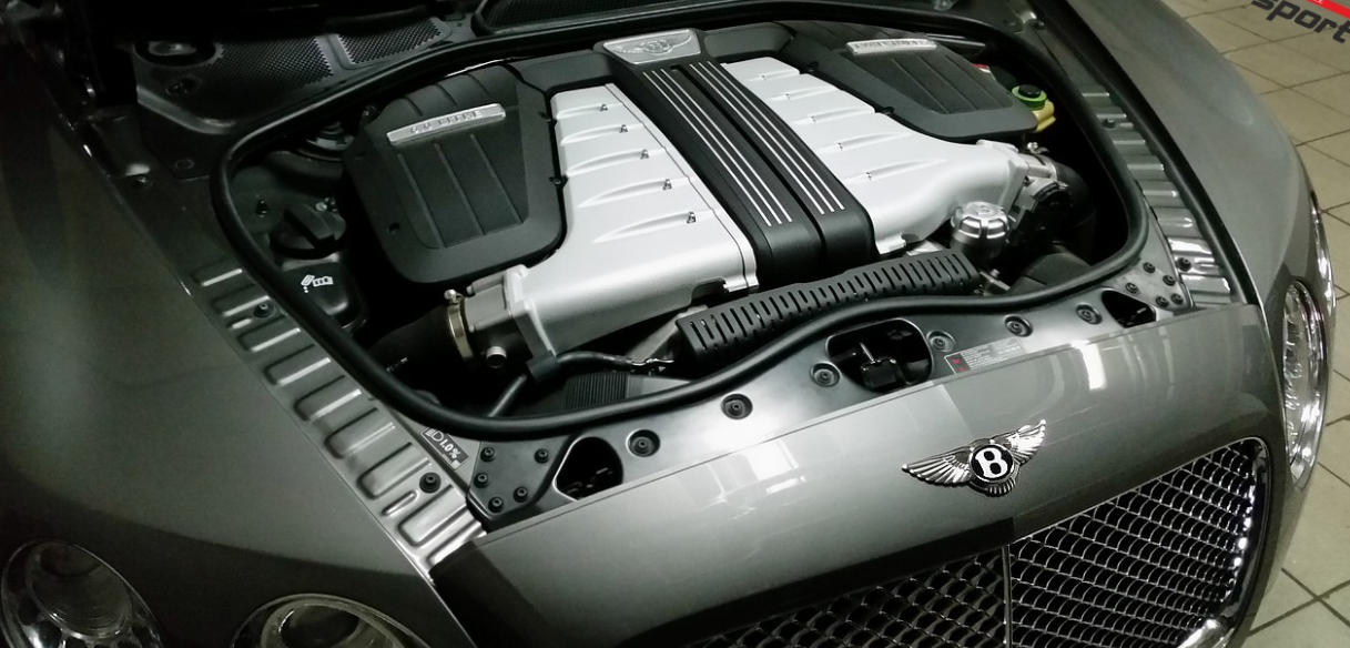 2023 Bentley Continental GT Engine
