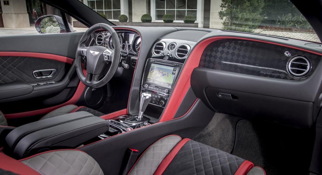 2021 Bentley Continental Interior
