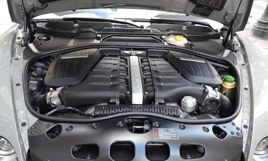 2021 Bentley Continental Supersports Engine