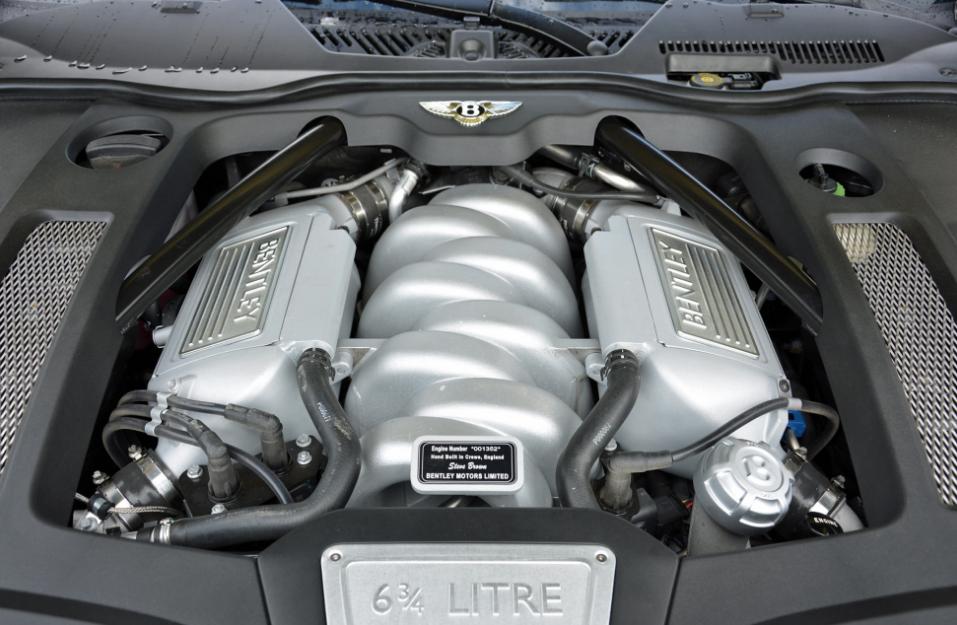 2023 Bentley Mulsanne Engine