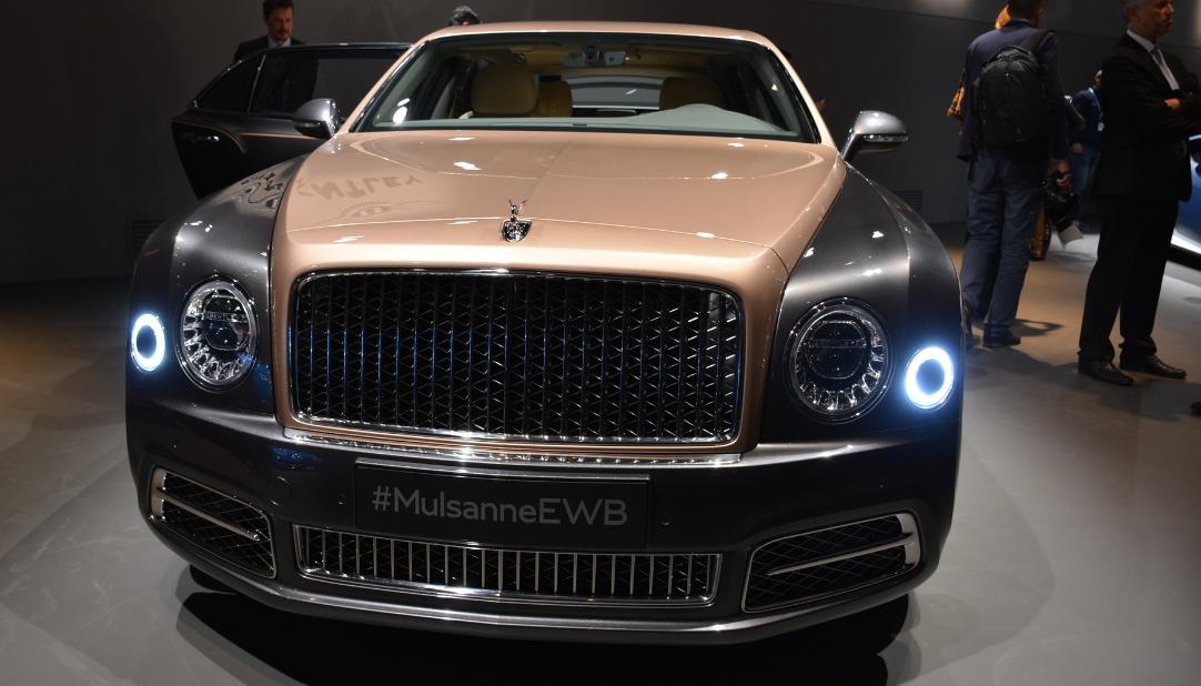 2021 Bentley Mulsanne Ewb Engine
