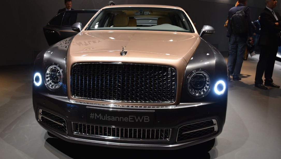 2021 Bentley Mulsanne Ewb Engine