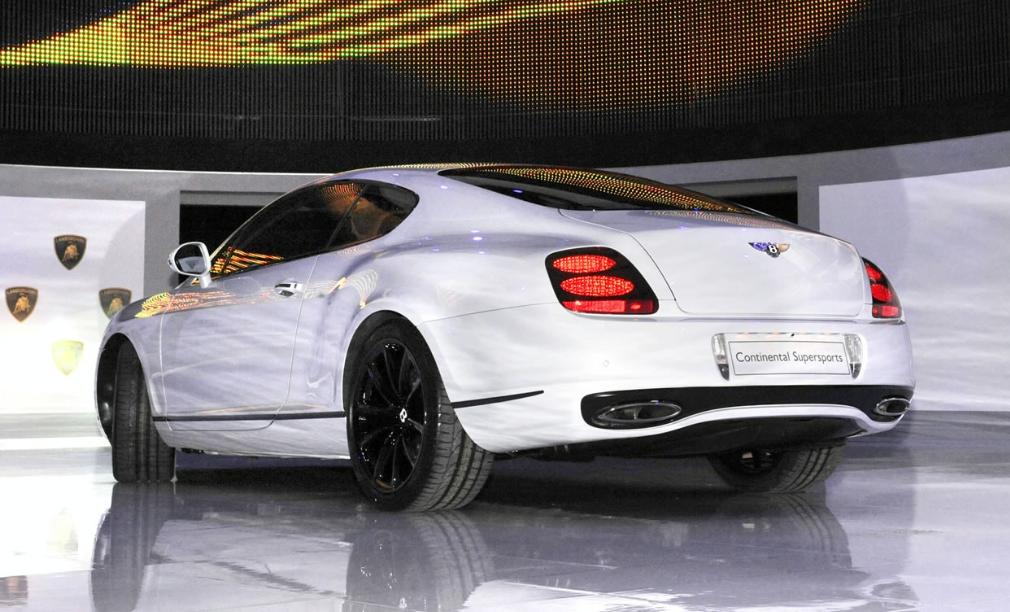 2022 Bentley Continental Supersports Engine