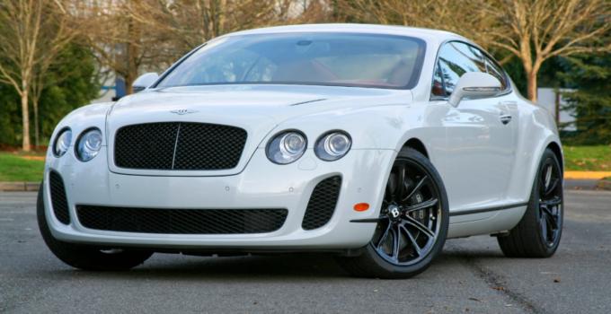 2022 Bentley Continental Supersports Exterior