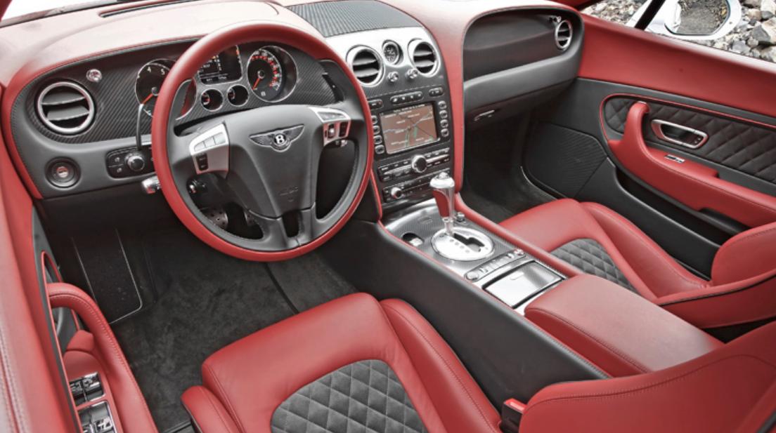 2022 Bentley Continental Supersports Interior