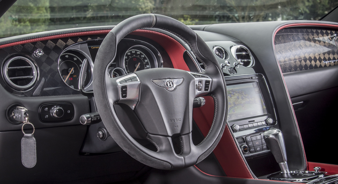 2022 Bentley Continental Supersports Interior