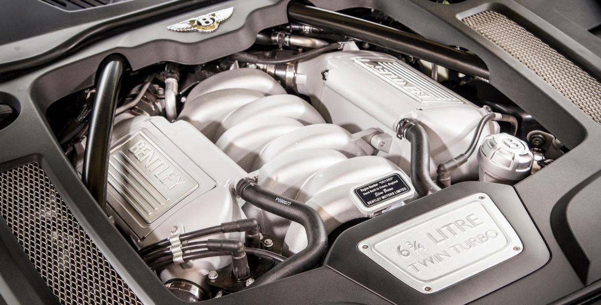 2022 Bentley Mulsanne Speed Engine