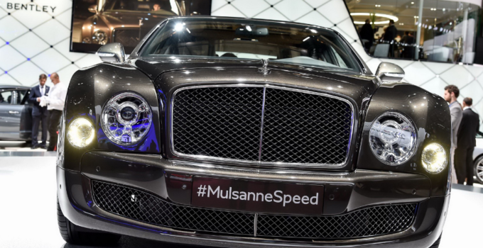 2022 Bentley Mulsanne Speed Exterior