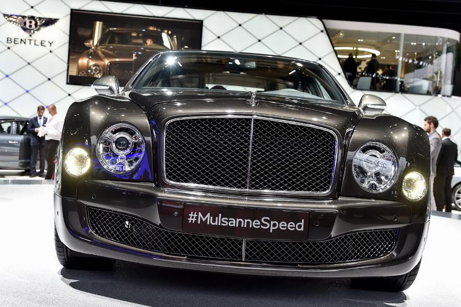 2022 Bentley Mulsanne Speed Exterior
