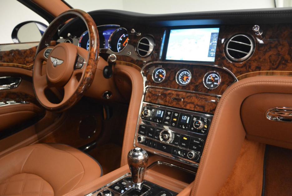 2022 Bentley Mulsanne Speed Interior