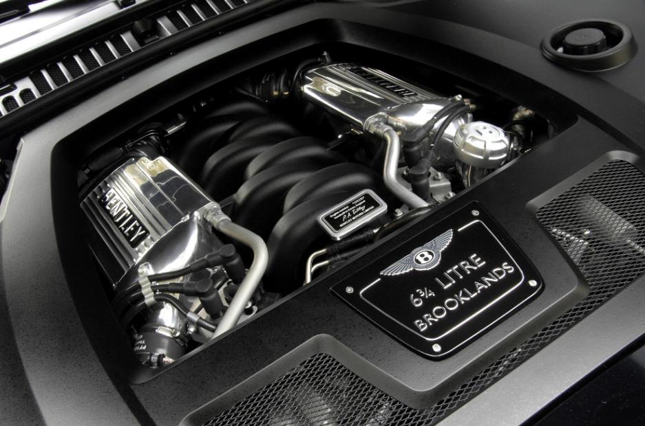 2023 Bentley Brooklands Engine