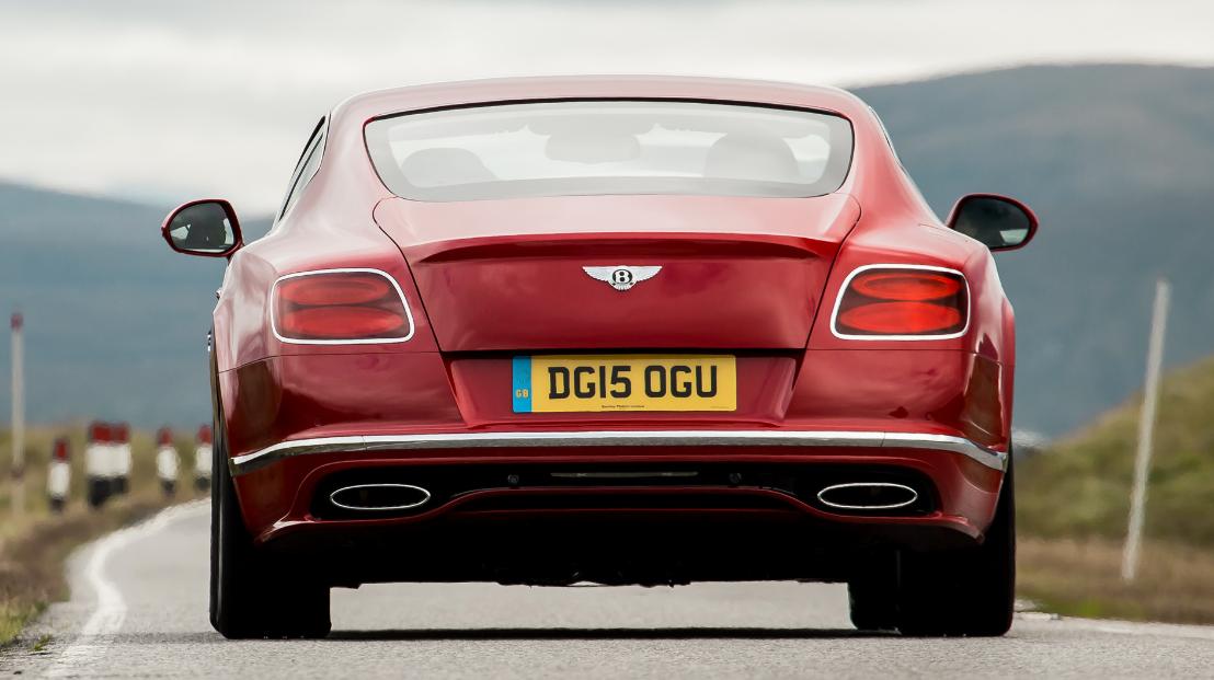 2023 Bentley Continental GT speed Engine