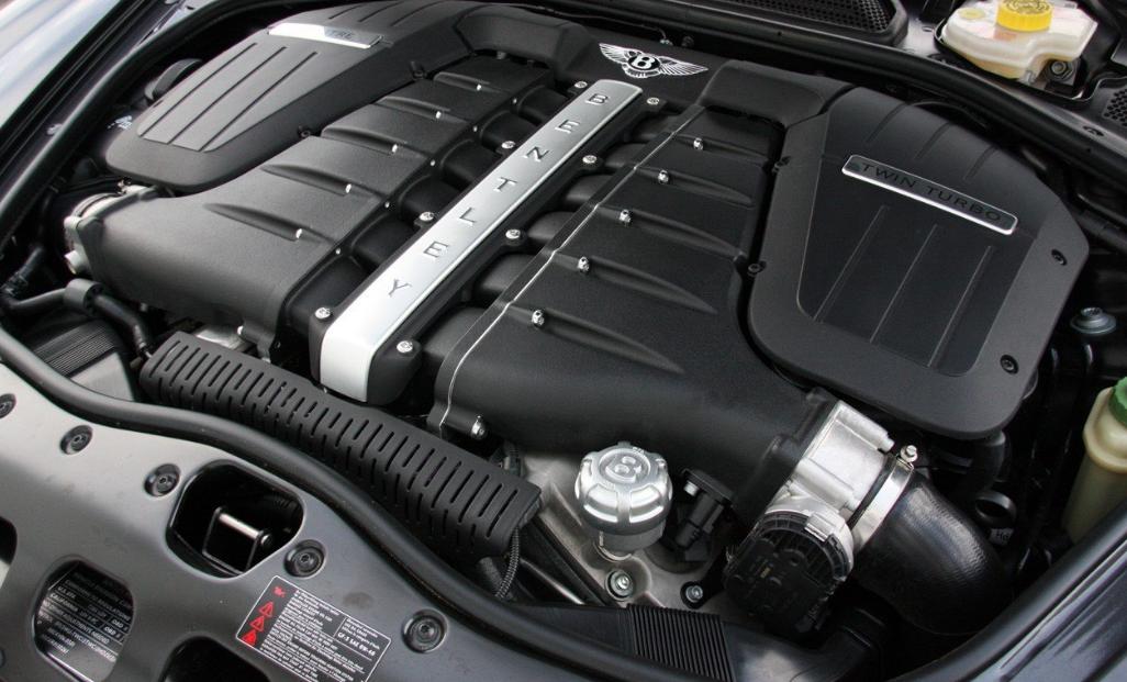 2023 Bentley Continental Supersports Engine