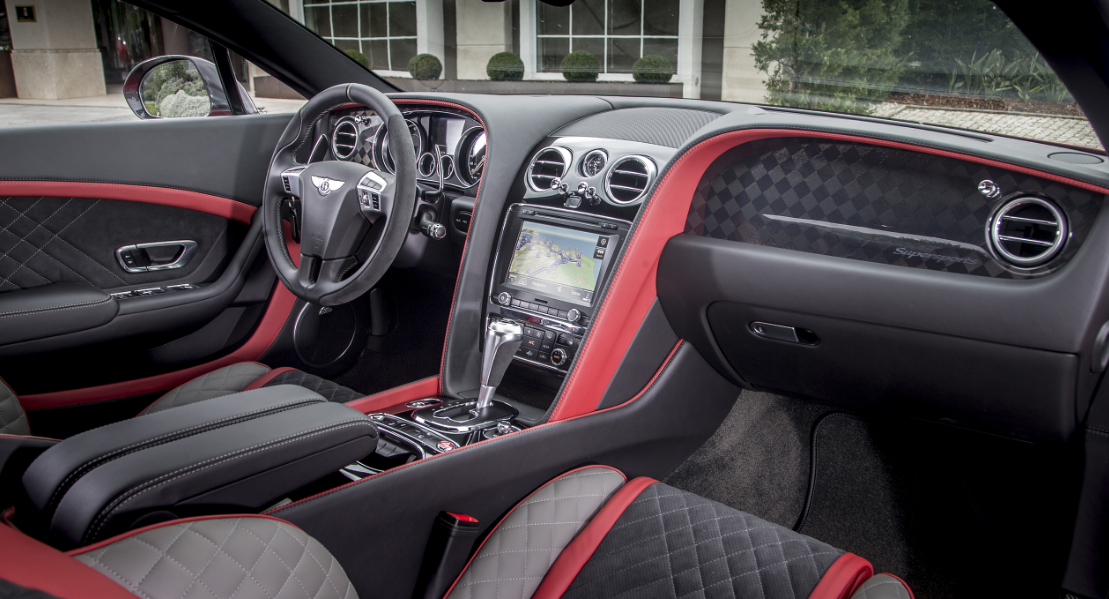 2023 Bentley Continental Supersports Interior