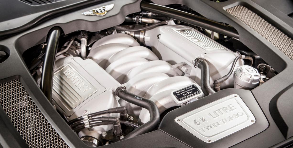 2023 Bentley Mulsanne Speed Engine